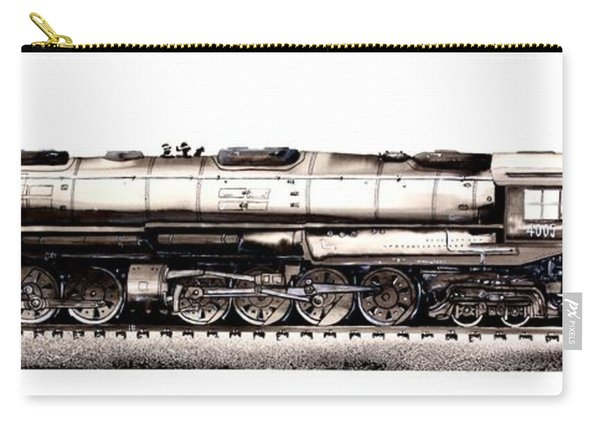 Union Pacific 4-8-8-4 Steam Engine Big Boy 4005 Carry-all Pouch