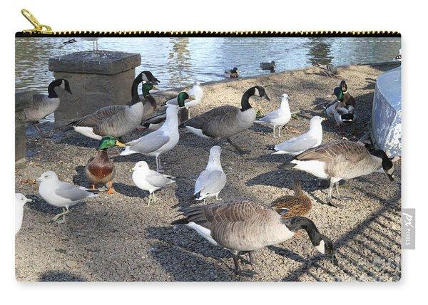 Urban Birds Carry-all Pouch