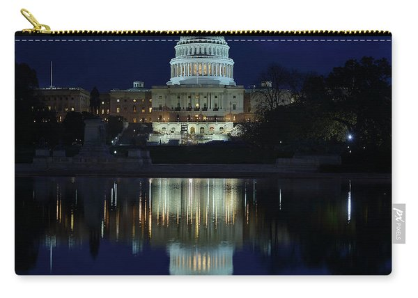 Us Capitol - Pre-dawn Getting Ready Carry-all Pouch