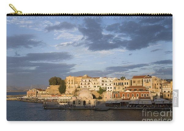 Venetian Harbor At Sunset Carry-all Pouch