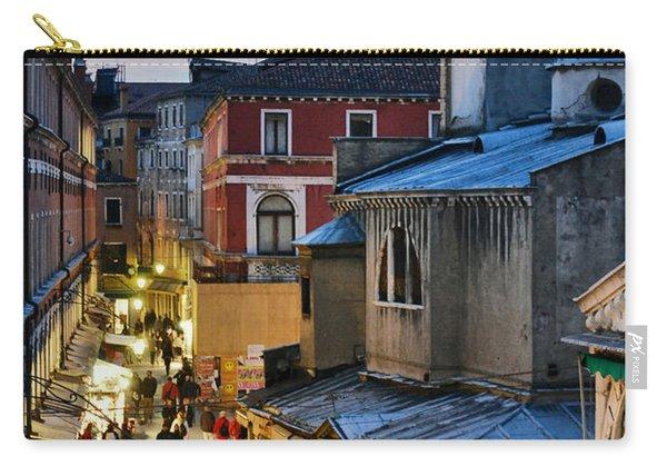 Venice From Ponte Di Rialto Carry-all Pouch