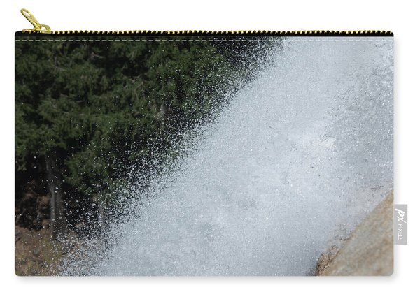 Vernal Falls On The Mist Trail At Yosemite Np Carry-all Pouch