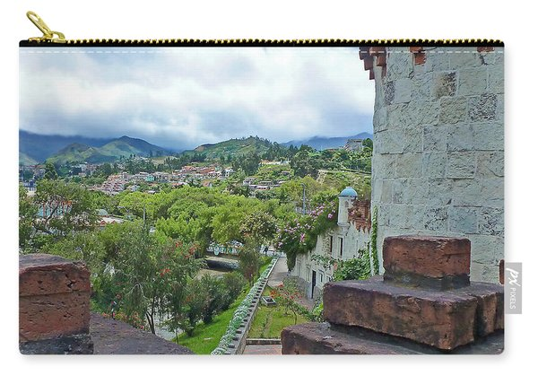 View From The City Walls - Loja - Ecuador Carry-all Pouch