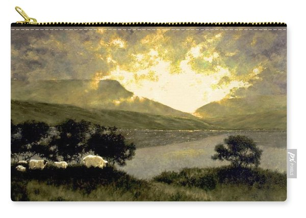 View Of Ben Bulben Carry-all Pouch