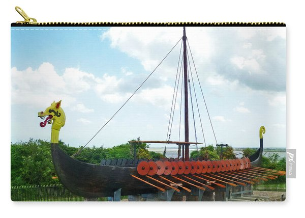 Viking Bay In Broadstairs In England Carry-all Pouch