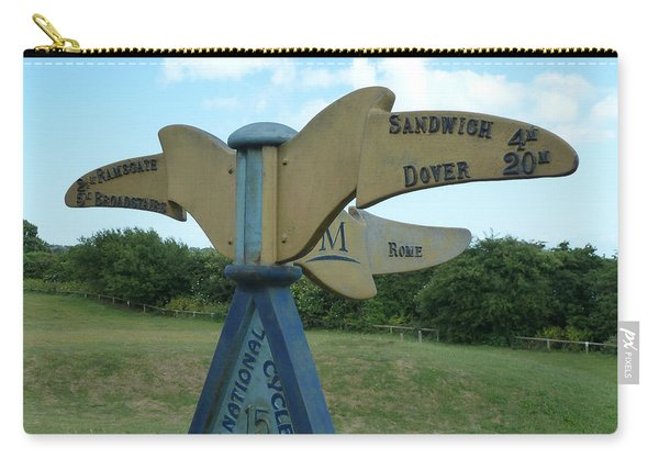 Viking Coastal Trail From Sandwich To Reculver Carry-all Pouch