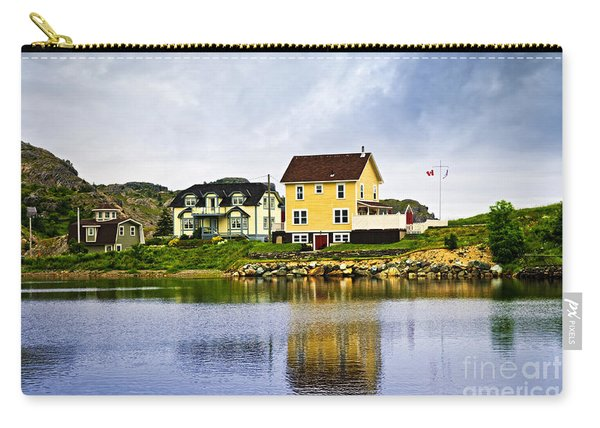 Village In Newfoundland Carry-all Pouch