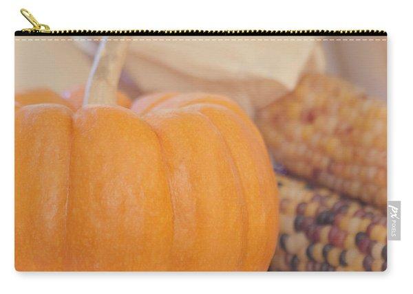 Vintage Autumn Harvest  Carry-all Pouch