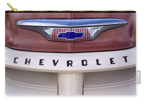 Vintage Chevy Truck Carry-all Pouch