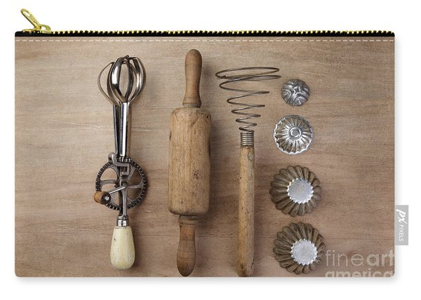 Vintage Cooking Utensils Carry-all Pouch