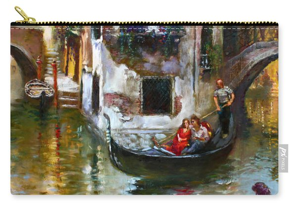Viola In Venice Carry-all Pouch