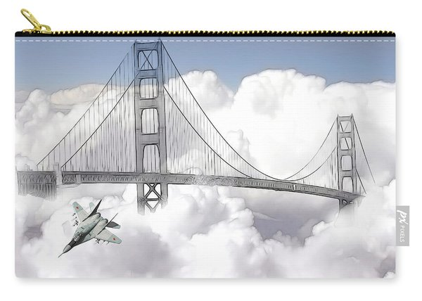 Visiting San Francisco Carry-all Pouch