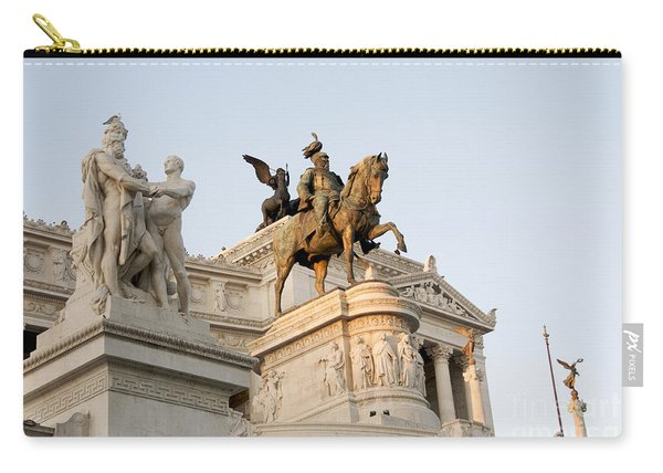 Vittoriano. Monument To Victor Emmanuel II. Rome Carry-all Pouch