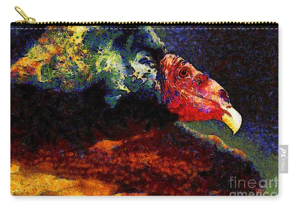 Vulture In Van Gogh.s Dream . 40d8879 Carry-all Pouch
