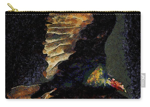 Vulture In Van Gogh.s Dream Returns . 40d8879 Carry-all Pouch