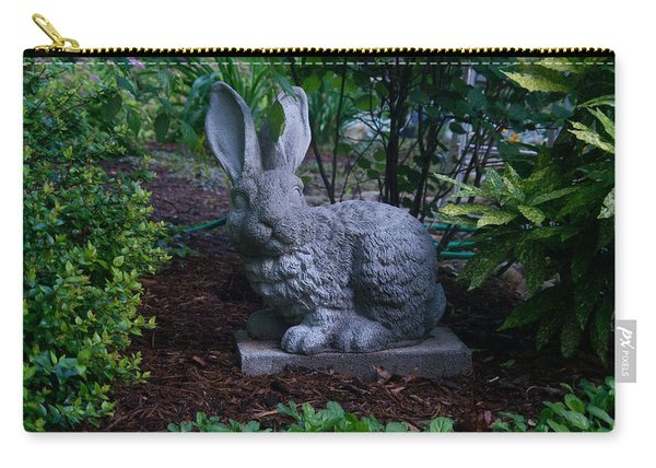 Watchful Rabbit Carry-all Pouch