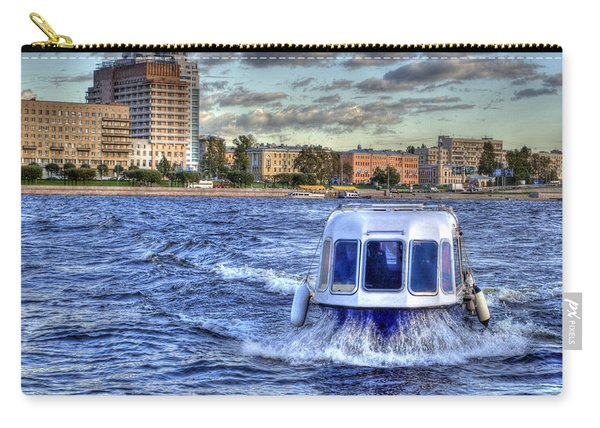 Water Taxi. St Petersburg. Russia Carry-all Pouch