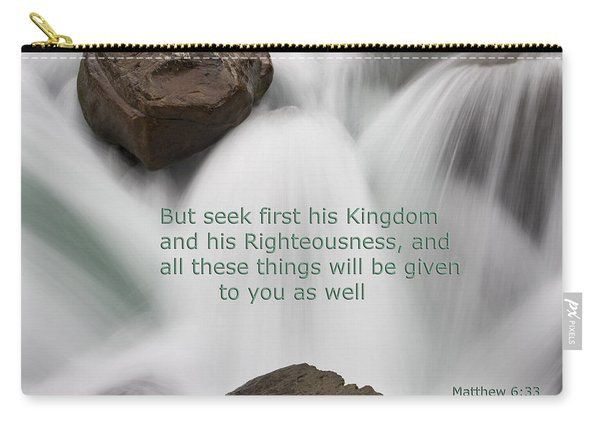 Waterfall Matthew Gospel Carry-all Pouch