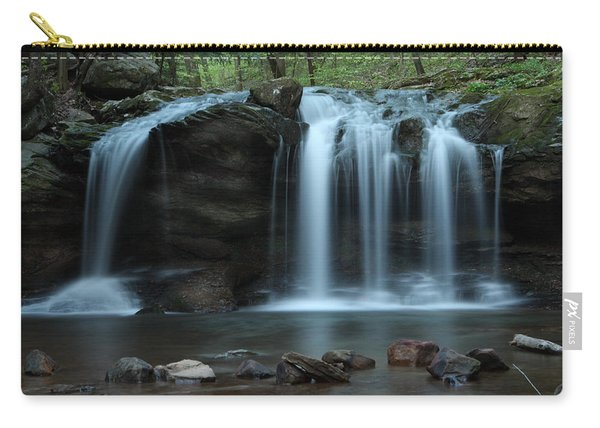 Waterfall On Flat Fork Carry-all Pouch