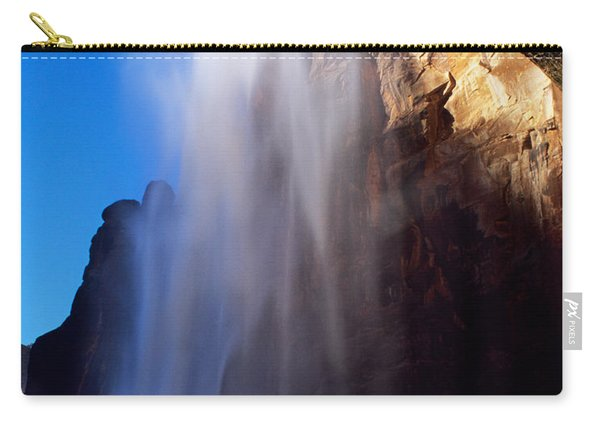 Weeping Rock Waterfall Carry-all Pouch