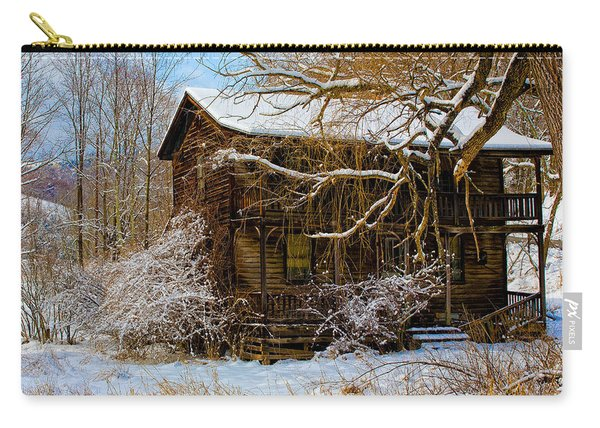 West Virginia Winter Carry-all Pouch