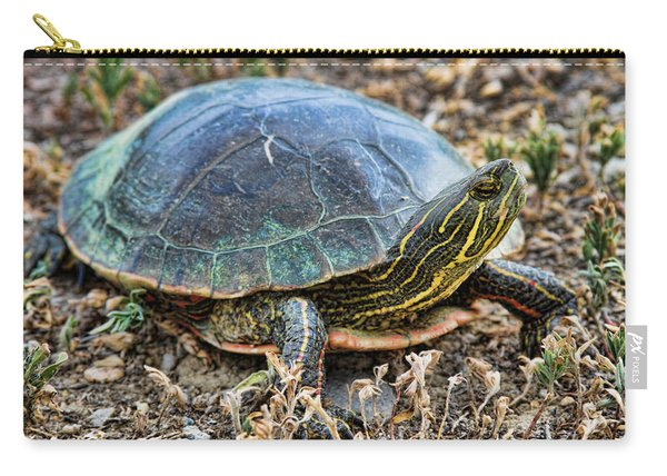 Western Painted Turtle Ll Carry-all Pouch