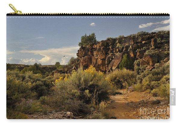 Westward Across The Mesa Carry-all Pouch