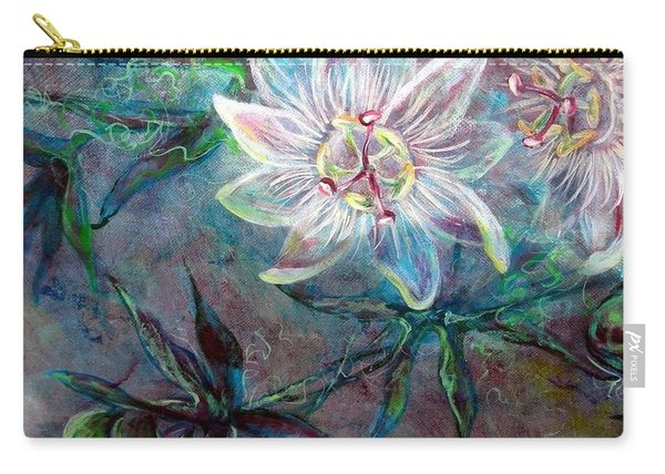 White Passion Carry-all Pouch