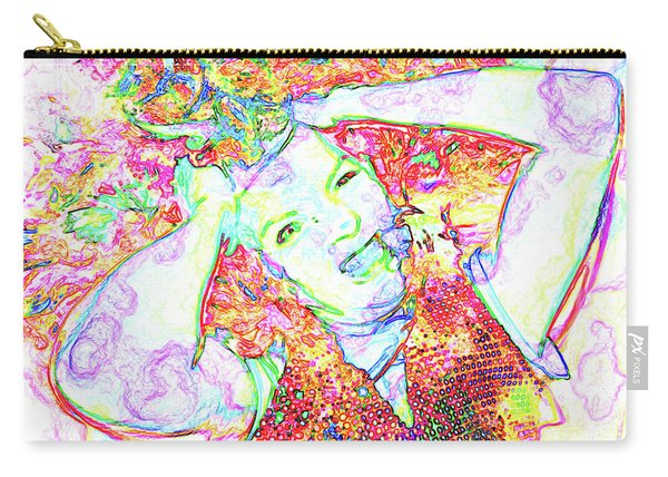 Wild Thoughts Carry-all Pouch