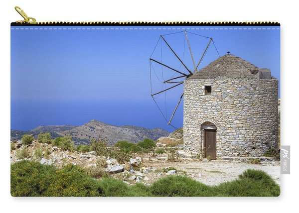 wind mill Naxos Carry-all Pouch