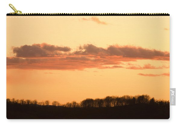 Wispy Clouds At Sunset Carry-all Pouch