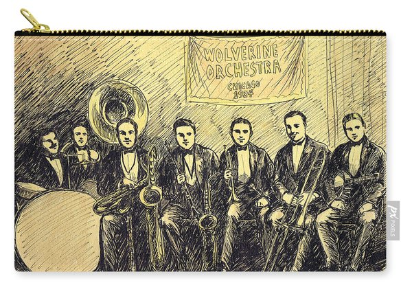 Wolverines Chicago 1924 Carry-all Pouch