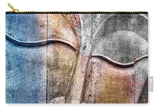 Wooden Buddha Carry-all Pouch