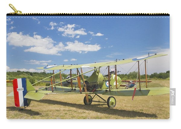 Worl War One 1916 Royal Aircraft F.e.8 Canvas Photo Poster Print Carry-all Pouch