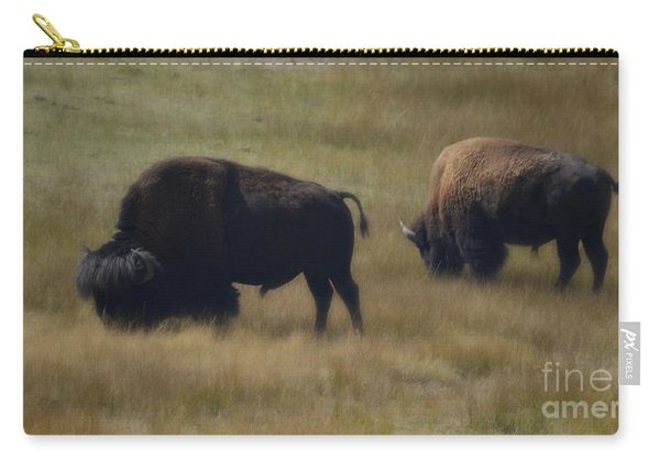 Wyoming Buffalo Carry-all Pouch