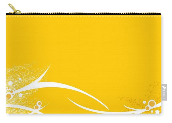 Yellow Twigs Carry-all Pouch