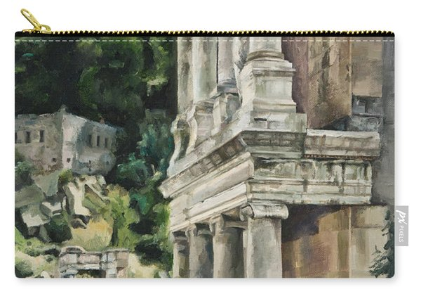 Ancient Amphitheater Carry-all Pouch