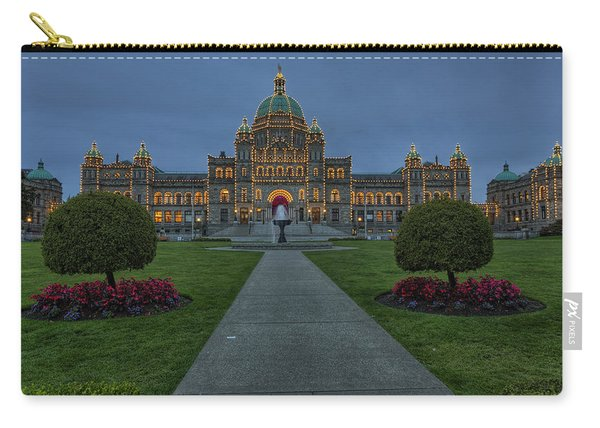 British Columbia Parliament Buildings Carry-all Pouch