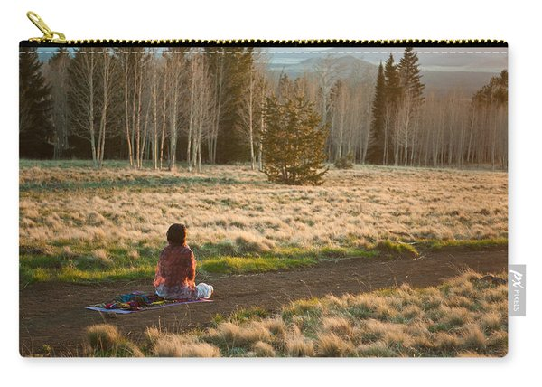 Contemplative Meditation Carry-all Pouch