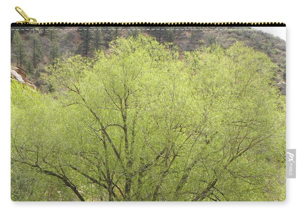 Carry-all Pouch featuring the photograph Tree Ute Pass Hwy 24 Cos Co by Margarethe Binkley