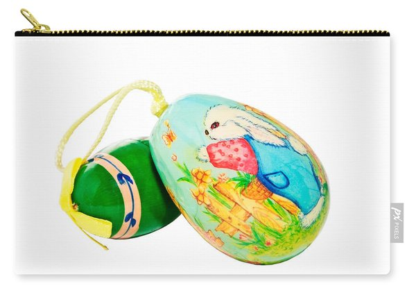Hand Painted Easter Eggs Carry-all Pouch