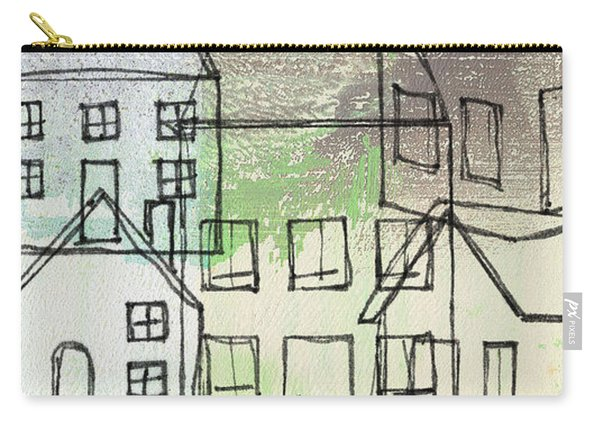 Houses By The River Carry-all Pouch