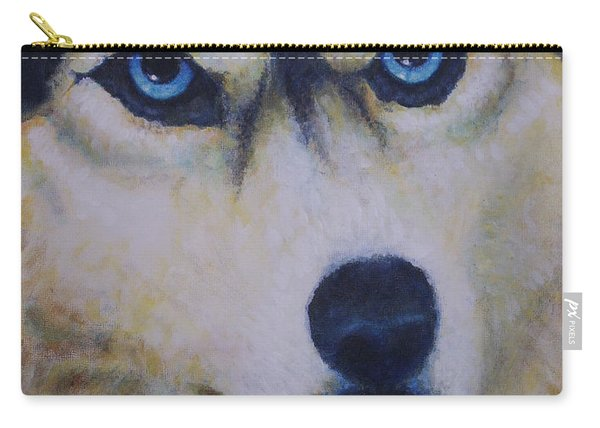 Husky For Cyrus Carry-all Pouch