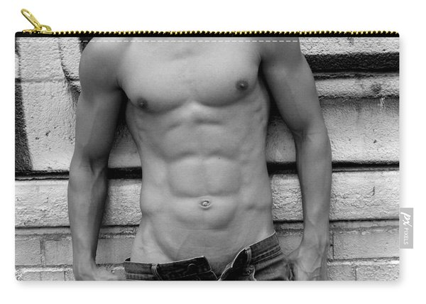 Male Abs Carry-all Pouch