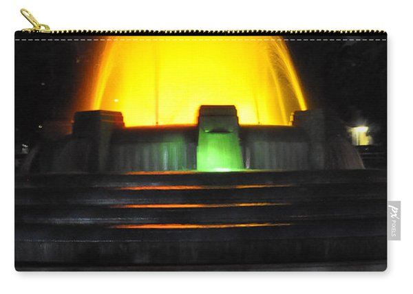 Mulholland Fountain Reflection Carry-all Pouch
