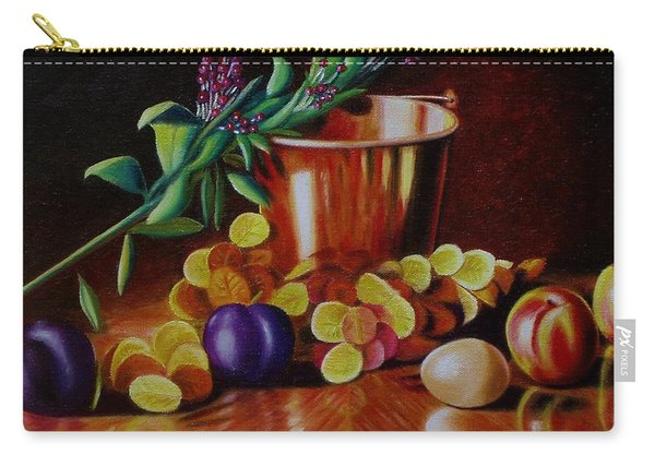 Pail Of Plenty Carry-all Pouch