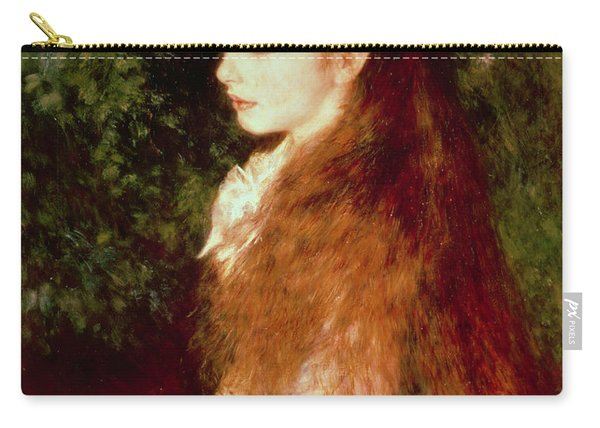 Portrait Of Mademoiselle Irene Cahen D'anvers Carry-all Pouch