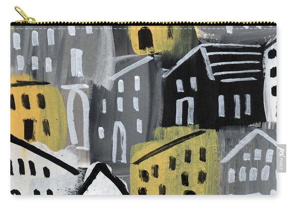 Rainy Day - Expressionist Art Carry-all Pouch
