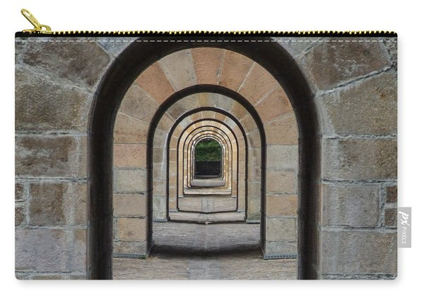 Receding Arches Carry-all Pouch
