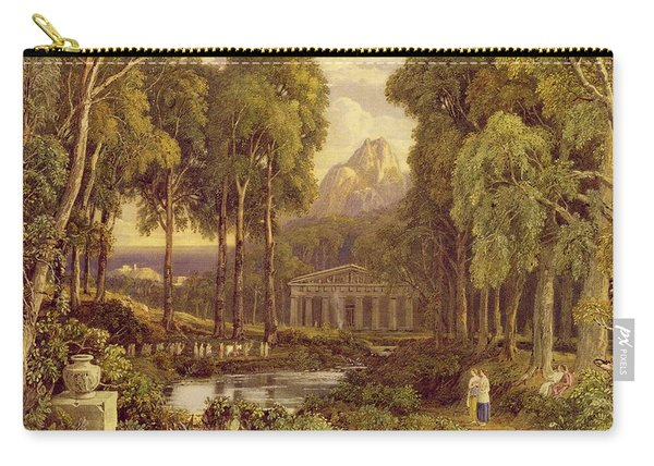 Religious Ceremony In Ancient Greece  Carry-all Pouch